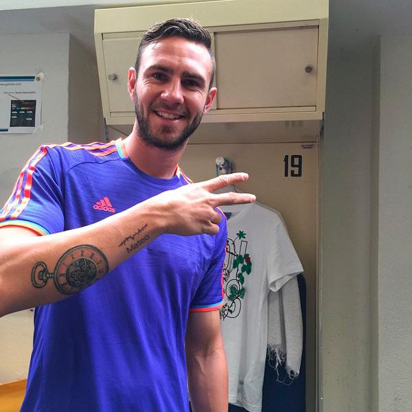 A Días De Ser Papá Miguel Layún Tiene Un Nuevo Tatuaje En Honor A