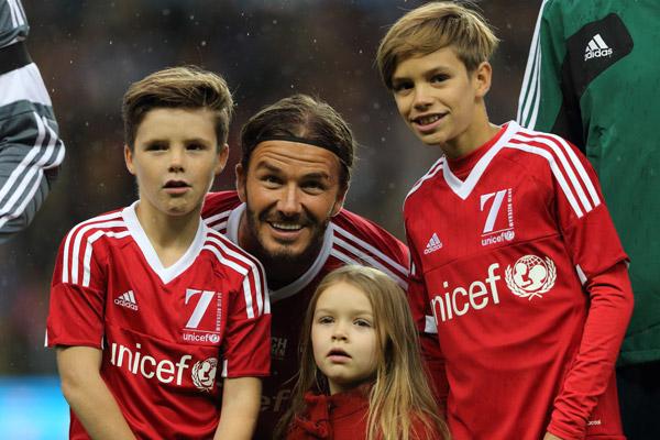 David y Victoria Beckham tienen una peculiar forma de 'malcriar a sus hijos'