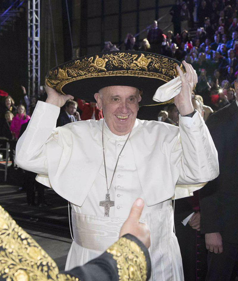 Adiós Papa Francisco! Las mejores imágenes de su visita a México - Foto d2ac90d7588
