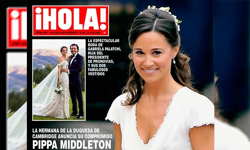 en ¡hola!, pippa, la hermana de kate middleton, se casa. 'no podría