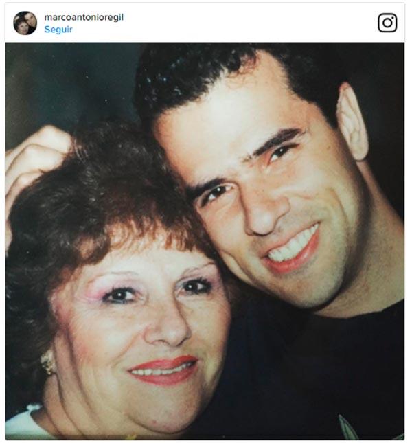 Marco Antonio Regil anunció el triste fallecimiento de su mamá