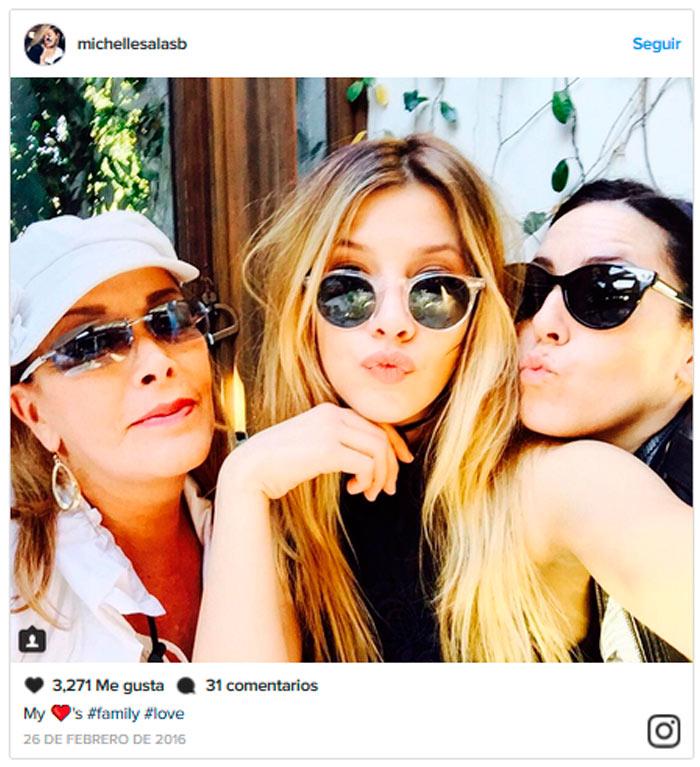 Sylvia pasquel emocionada por el debut de michelle y - Sylvia salas instagram ...