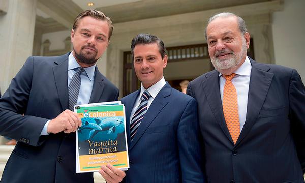 Leonardo DiCaprio y su mensaje a Peña Nieto, ¿qué le escribió?