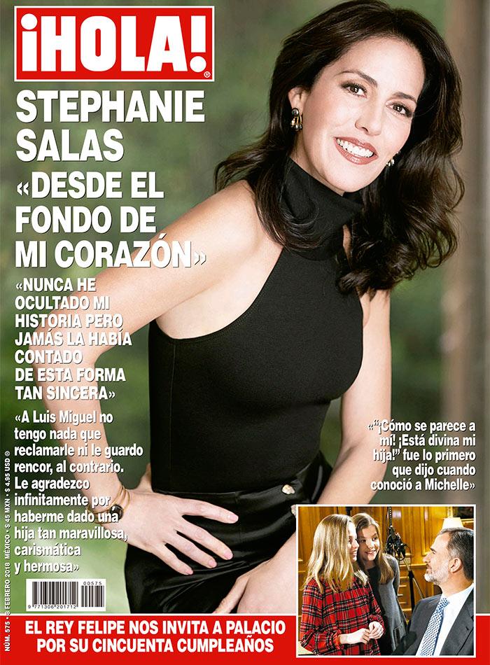 Esto es lo que Stephanie Salas dijo a ¡HOLA! sobre su relación con ...