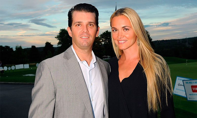 Donald Trump Jr. y Vanessa