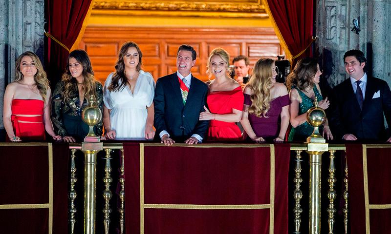 Resultado de imagen para familia presidencial en los pinos