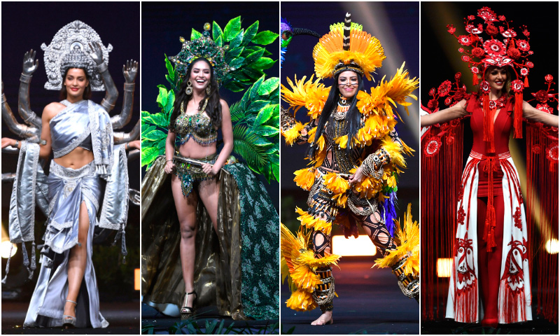 7a5ace5ff9 Los más originales trajes típicos de las competidoras de Miss Universo