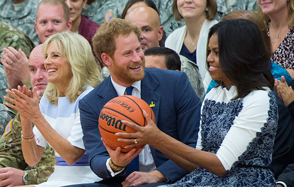 Michelle Obama y Príncipe Harry