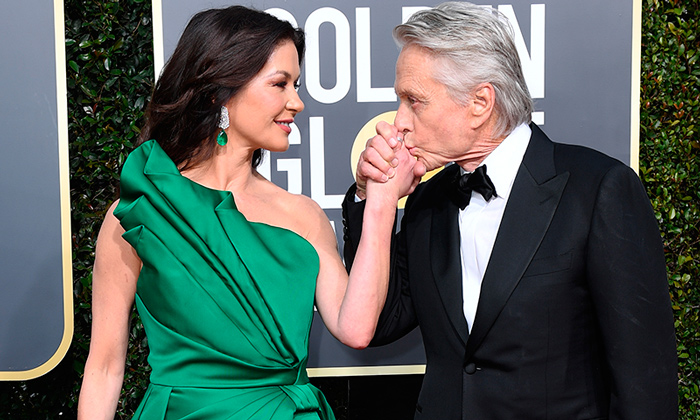 Catherine Zeta Jones y Michael Douglas