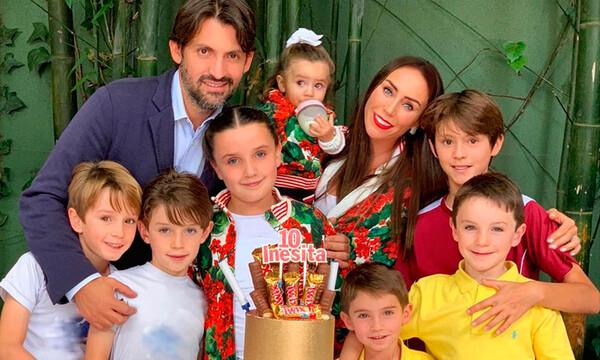 Así festejó su décimo cumpleaños Inesita, la hija de Inés Gómez Mont