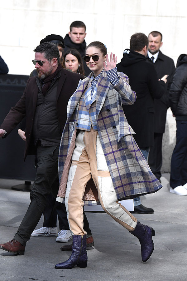 Gigi Hadid y París