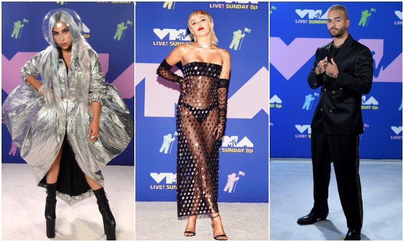 MTV VMAs 2020: Mira todos los looks más impactantes de la alfombra roja - Foto 1