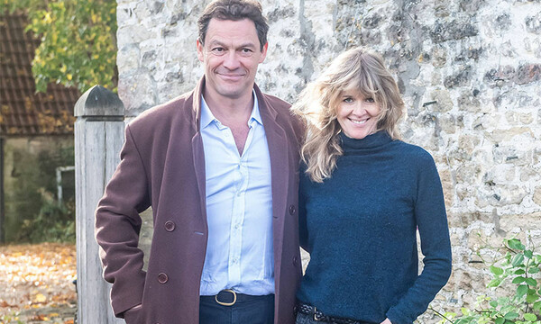 Dominic West y Catherine Fitzgerald