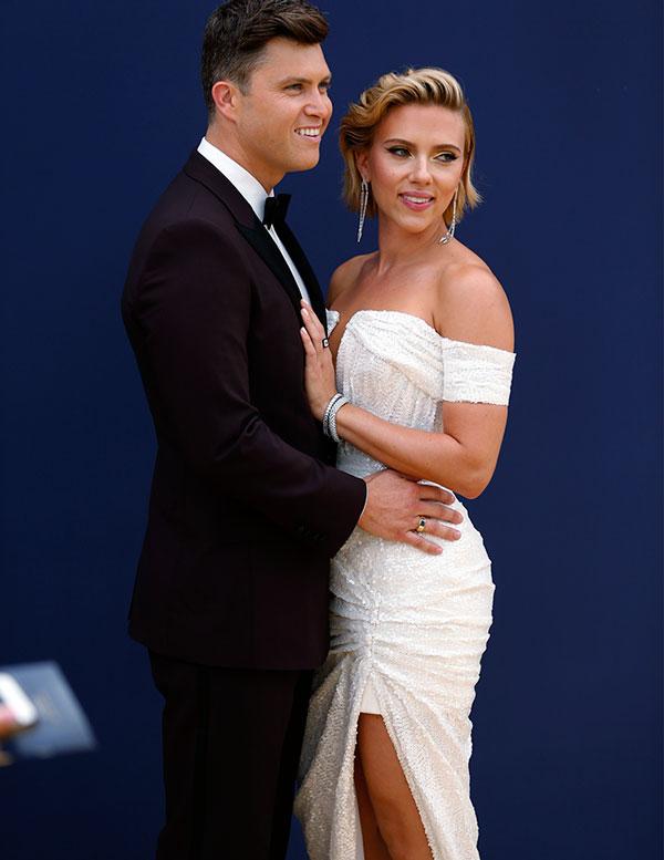 Scarlett Johansson y Colin Jost se casaron en secreto - Foto 1