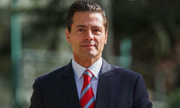 Enrique Peña Nieto reaparece en las redes sociales de sus hijos