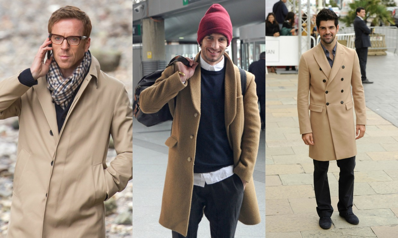 Como usar un abrigo para hombre