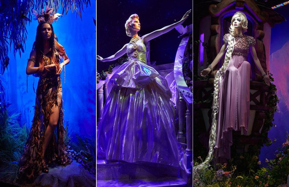 Los vestidos de diseñador de las princesas de Disney llegan a los