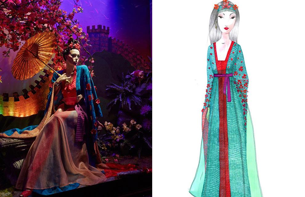 los vestidos de dise241ador de las princesas de disney