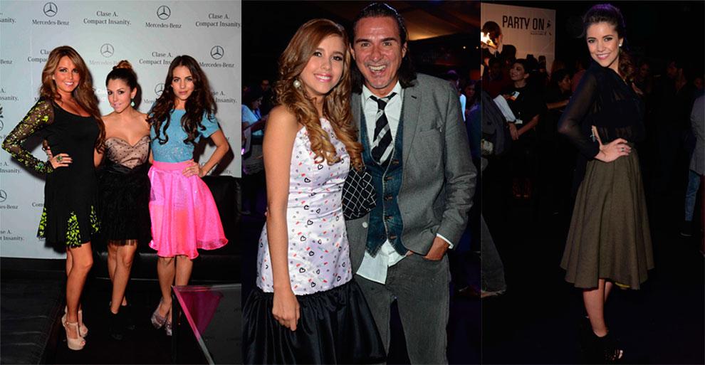 Karla Diaz, Ilean Almaguer y Ela Velen, Paulina Goto y Pedro Damián y ...