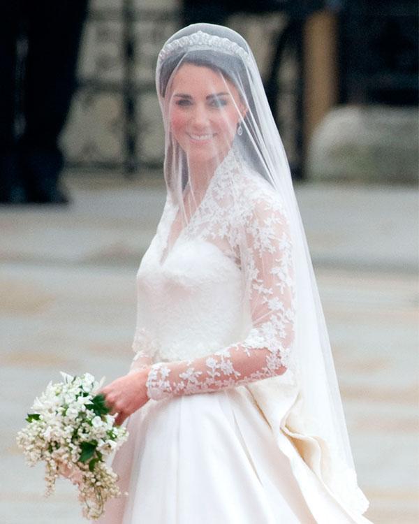 Vestido de novia dela princesa de cambridge