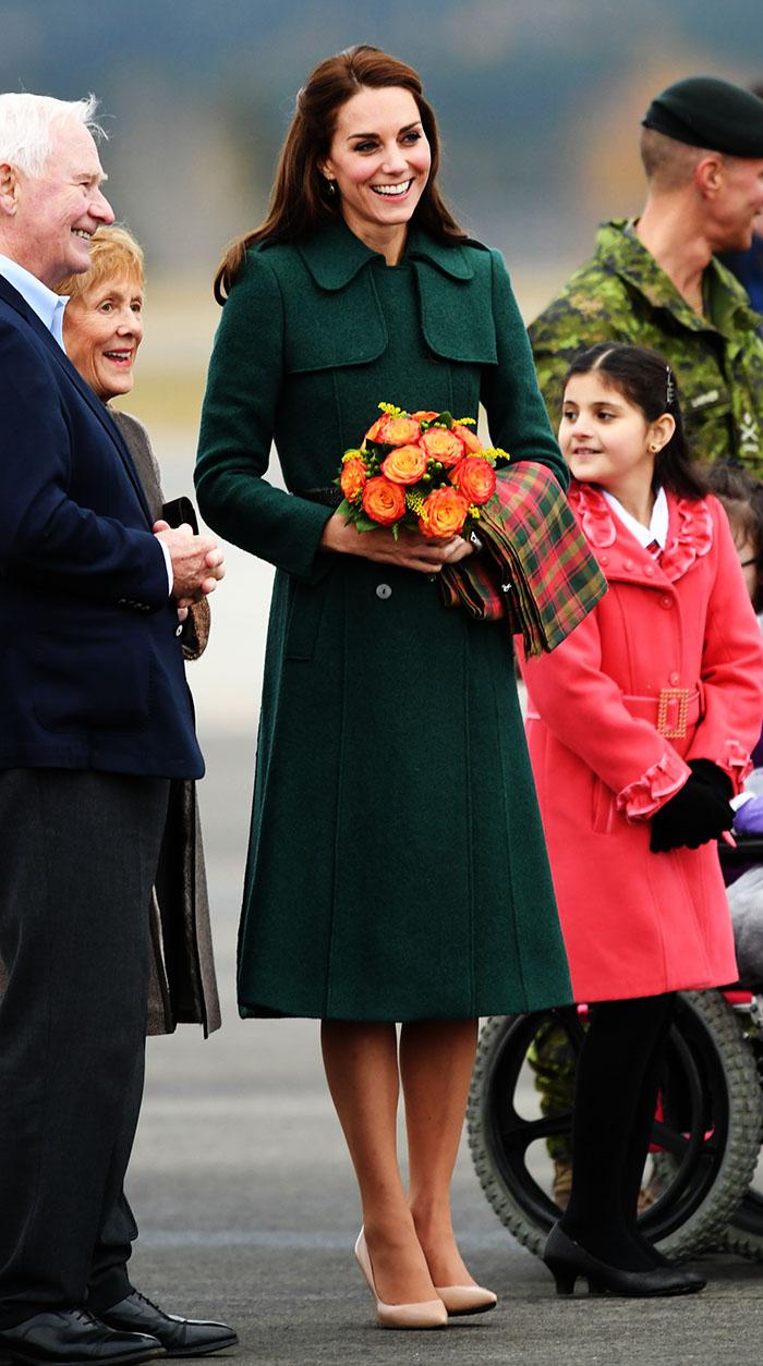 El valioso guardarropa de la duquesa de cambridge en canad foto 5 - Casa in canapa costo ...