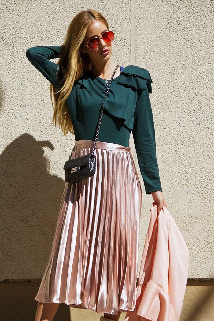 8253a7080 Las faldas plisadas siguen siendo tendencia -y estas son las 8 que ...