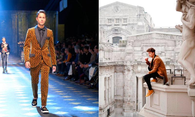 5353bad463b80 Juan Pablo Zurita, el mexicano que desfiló para Dolce   Gabbana