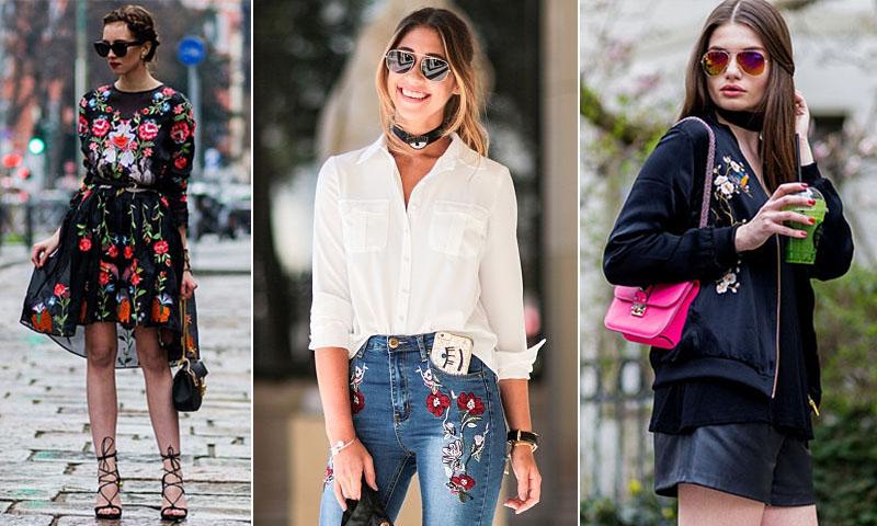 f3faa3e830 Los bordados de flores invaden tu ropa -y estas son las 6 prendas que debes
