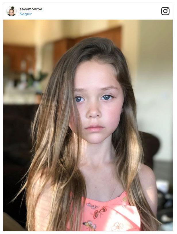 Savy Monroe, la modelo de 7 años que se apodera de Instagram