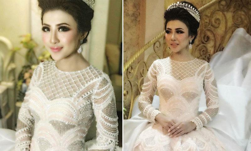 este es el vestido de novia más likeado de instagram