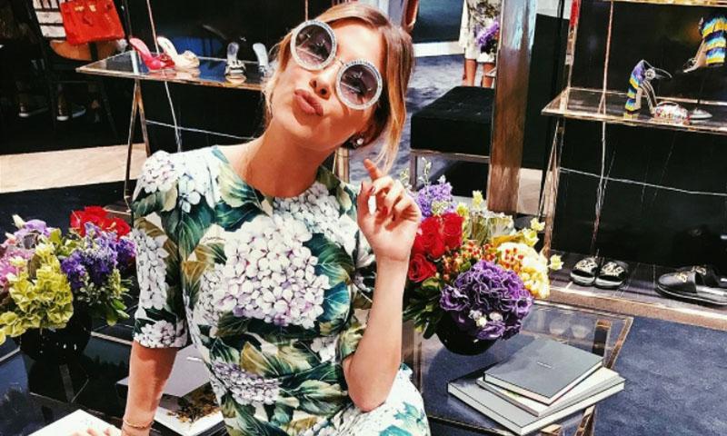 Michelle Salas, de fiesta en la pop-up store de Dolce   Gabbana en México -  Foto fa61aabfdba3