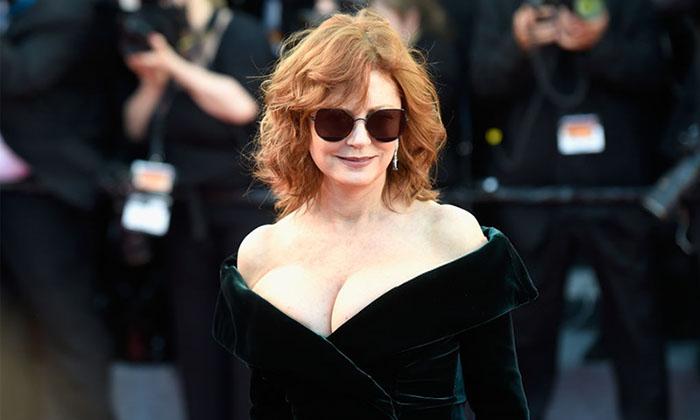 ¡Sexy a los 70! Susan Sarandon acapara todas las miradas en Cannes