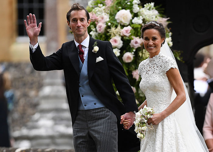 el espectacular vestido de novia de pippa middleton - foto