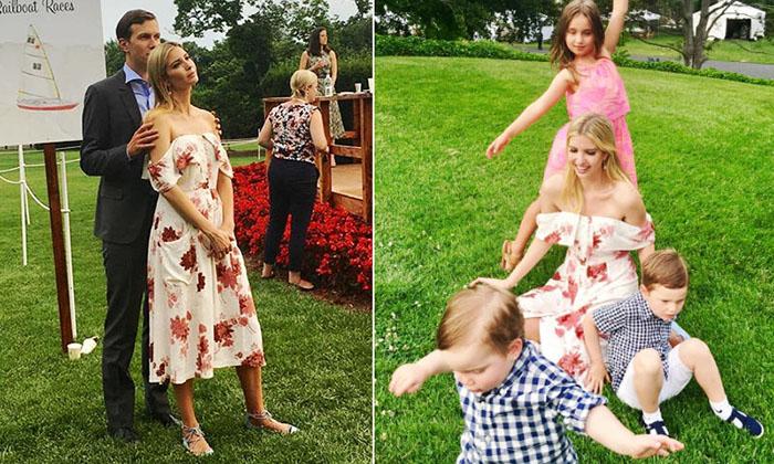 Ivanka Trump y su vestido floral -bastante barato- que todas quieren