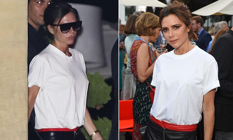 d04d0470af Victoria Beckham y su look sencillo -pero bastante revelador-... ¿por
