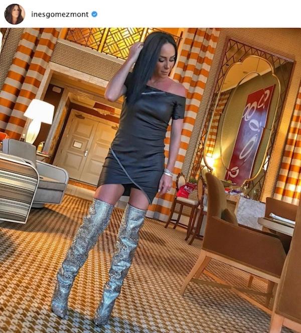 Muy a la Barbarella! El look más futurista que Inés Gómez Mont ha usado ac427596129fd