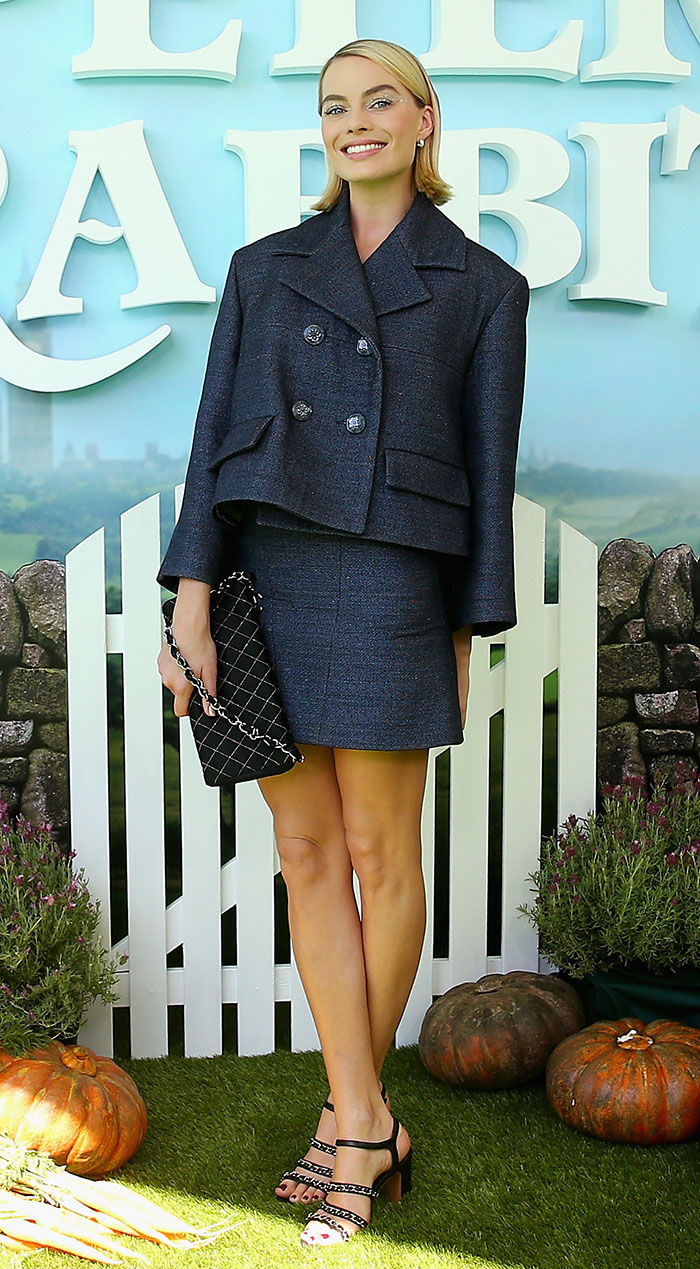 Margot Robbie en Chanel
