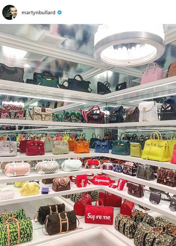 a3a1db025 Kylie Jenner y su impactante clóset de bolsas de más de 4 millones ...
