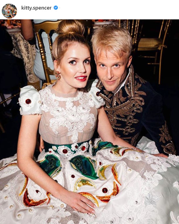 Lady Kitty Spencer y Guilherme Siqueira