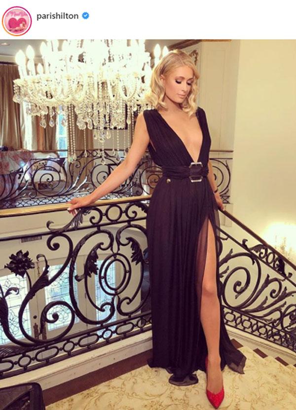 Paris Hilton en Philipp Plein