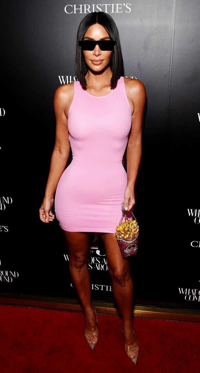 Kim Kardashian y el sexy vestido de látex -de 100 mil pesos- con el ...
