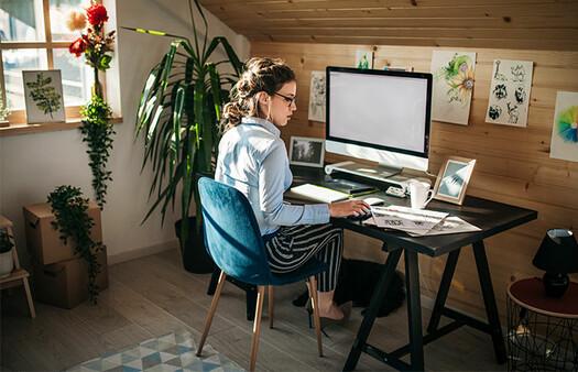 Qué necesitas para armar tu oficina en casa según tu estilo - Foto 1