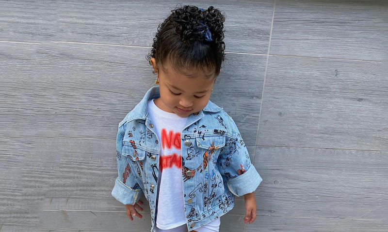 Stormi Webster y su look deportivo