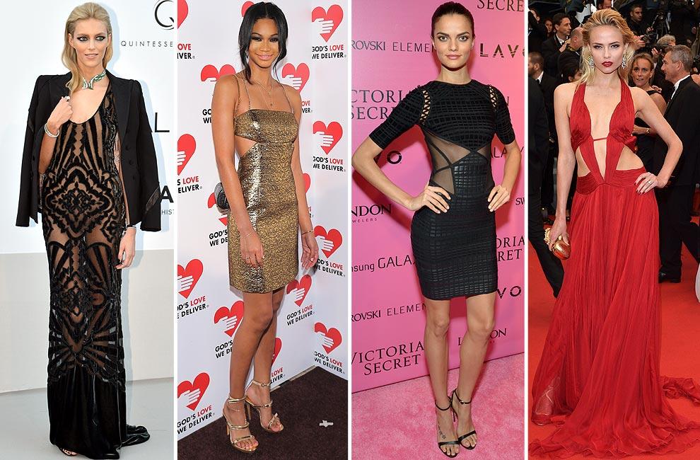 Especial vestidos de fiesta: ¡Vístete como una modelo esta Navidad ...
