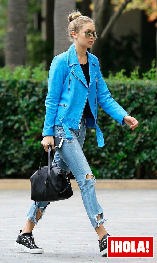 Como Fazer Artesanato Reciclagem De Garrafa Pet ~ Todos los secretos del armario de Gigi Hadid, la modelo'sporty'