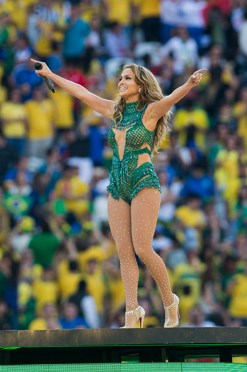 A ritmo de Samba, Jennifer Lopez brilla en la inauguración ...