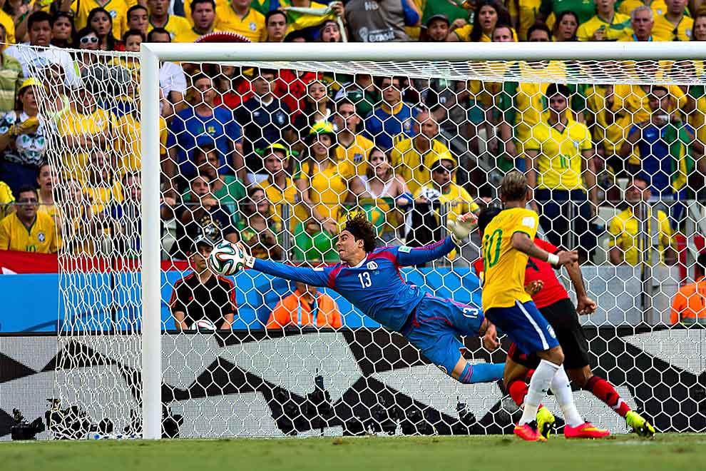 Resultado de imagen para memo ochoa ante Brasil 2014