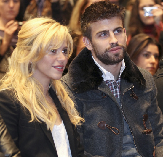 Shakira y el pequeño Milan ya están en casa