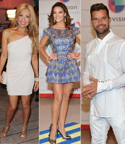 Thalia, Zuleyka Rivera y Ricky Martin