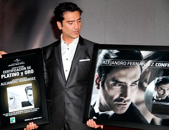 Alejandro Fernández afirma que su padre es uno de sus más grandes críticos